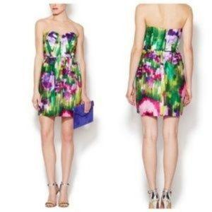 Shoshanna strapless mini dress, size 4